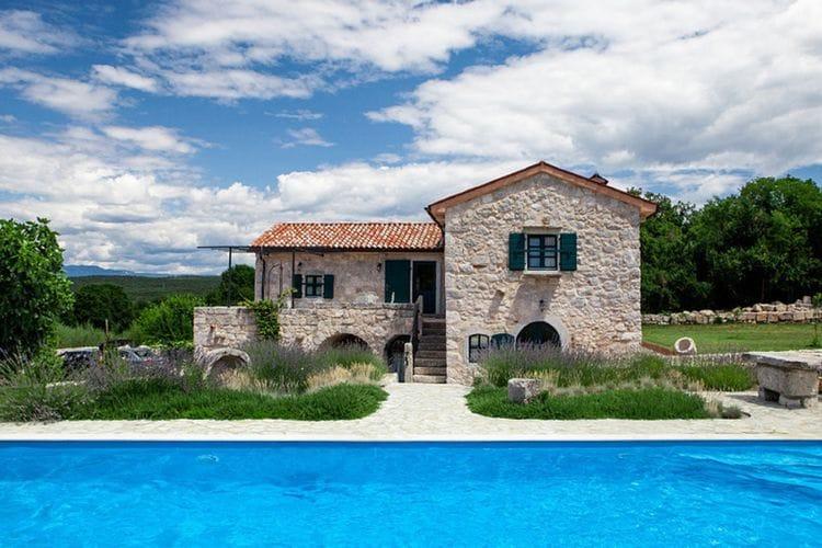 Kroatie | Eld | Villa te huur in Krk-Malinska met zwembad  met wifi 6 personen