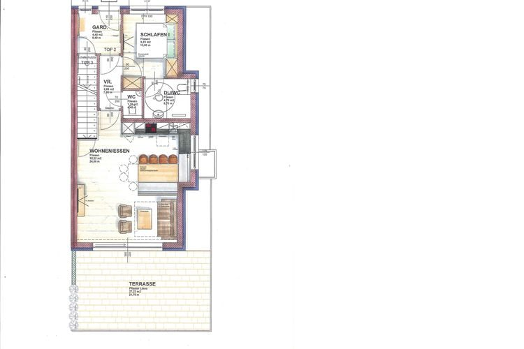 Ref: AT-5721-103 1 Bedrooms Price
