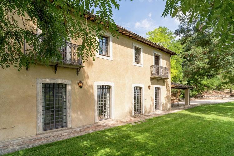 Villa huren in Umbrie - met zwembad  met wifi met zwembad voor 6 personen  Rododendro is een vrijstaand rusti..