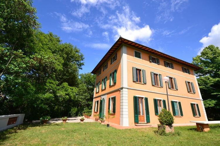Italie | Toscana | Villa te huur in Montefiridolfi met zwembad  met wifi 12 personen