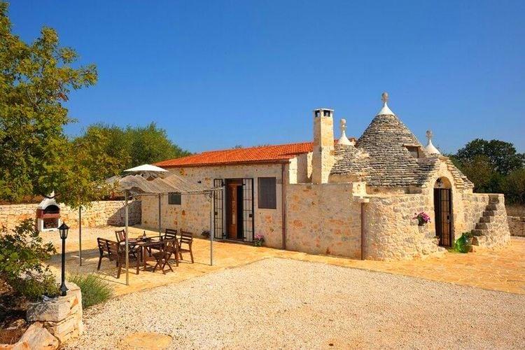 Puglia Vakantiewoningen te huur Een vakantie die u alleen maar buiten doorbrengt, lekker zwemmen en barbecuen!