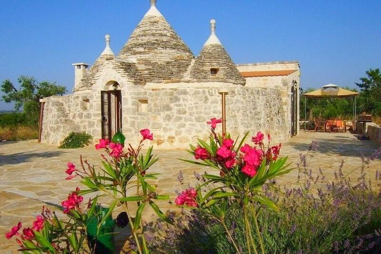 Vakantiewoning huren in Puglia - met zwembad  met wifi met zwembad voor 6 personen  In het hart van het authentieke Pu..