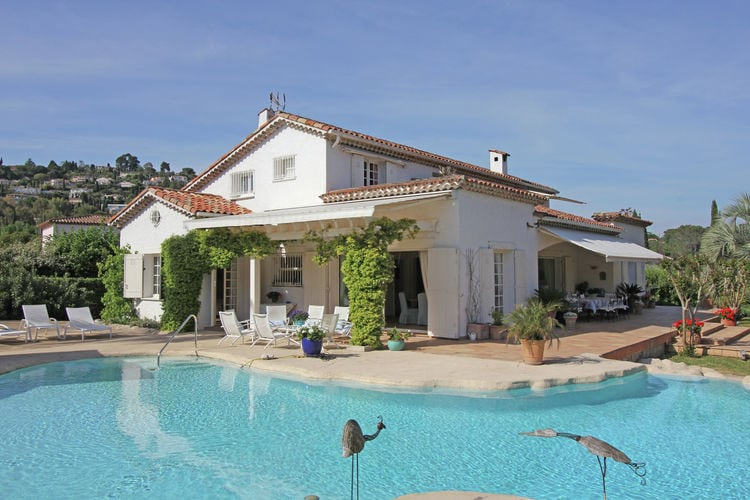 Villa huren in Mougins - met zwembad  met wifi met zwembad voor 12 personen  Deze prachtige, zeer smaakvol inge..