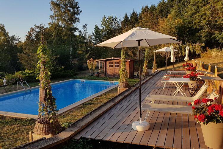 Vakantiehuizen Frankrijk | Bourgogne | Kasteel te huur in Onlay met zwembad  met wifi 4 personen