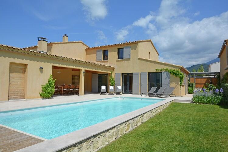 Villa met zwembad met wifi  Malaucène  Villa Belle Suzette