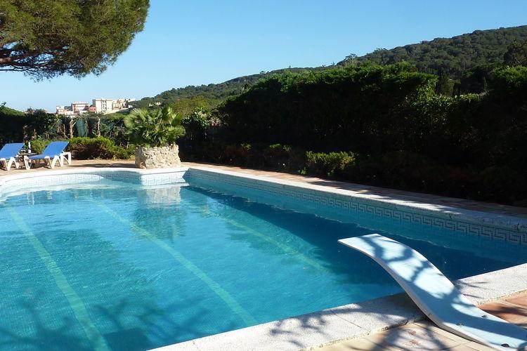 Spanje | Costa-Brava | Vakantiehuis te huur in Sant-Feliu-de-Guixols met zwembad  met wifi 4 personen