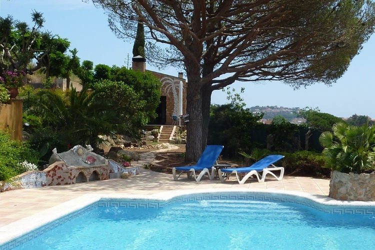 Costa Brava Vakantiewoningen te huur Villa  Luna