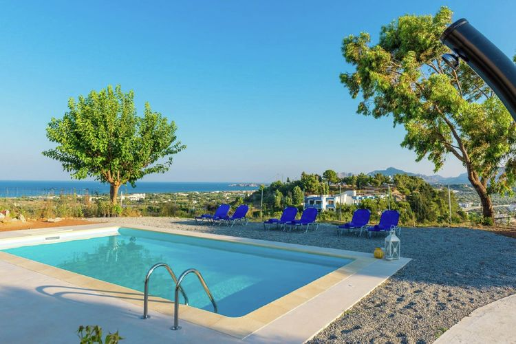 Hill Top Villa  Rhodes Greece
