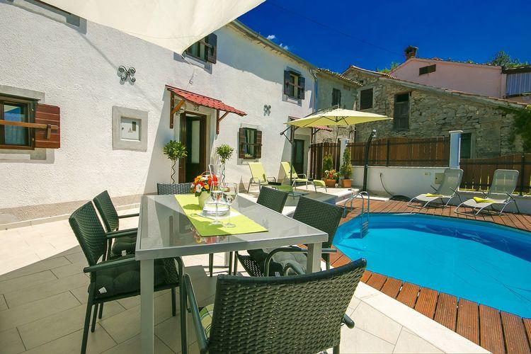 vakantiehuis Kroatië, Istrie, Buzet vakantiehuis HR-00000-37