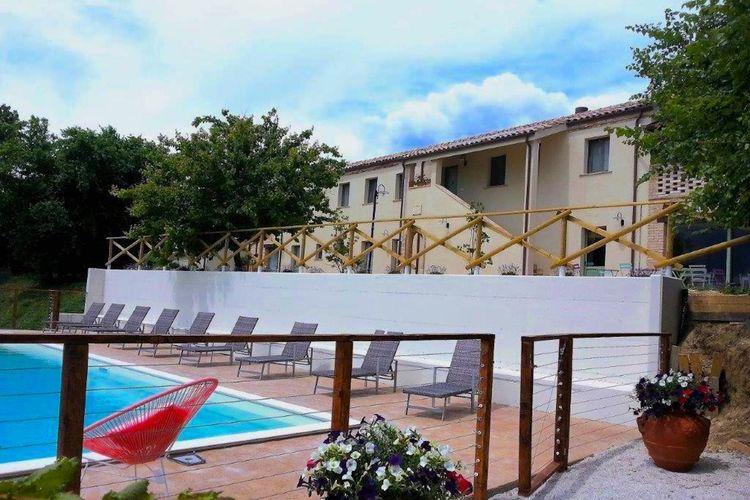 Marche Villas te huur Huis met uitzicht op zee, strand op 2,5 km en dichtbij Conero natuurgebied