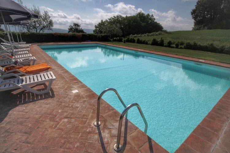 Boerderijen Italie | Lazio | Boerderij te huur in Proceno met zwembad  met wifi 4 personen