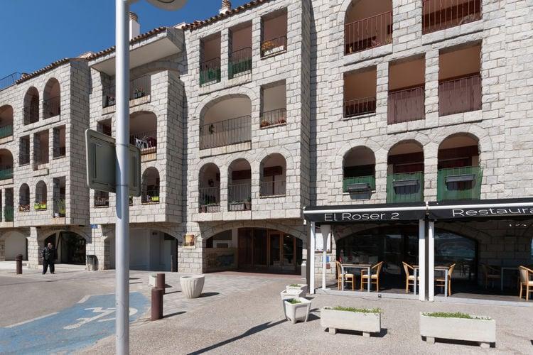 Spanje | Costa-Brava | Appartement te huur in Lescala   met wifi 6 personen