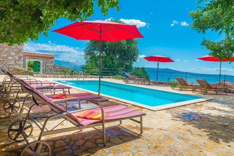 Villa met zwembad met wifi  KvarnerVesna