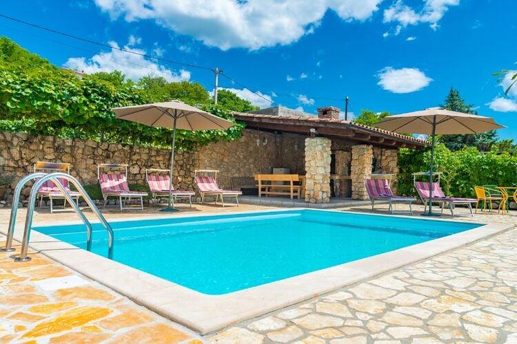 Vakantiehuizen Kroatie | Kvarner | Villa te huur in Crikvenica met zwembad  met wifi 4 personen
