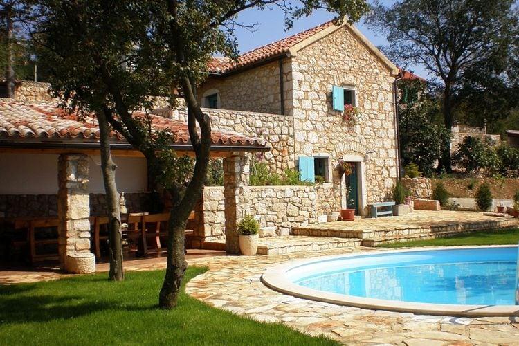 Vakantiewoning huren in Kvarner - met zwembad  met wifi met zwembad voor 2 personen  Deze romantische villa met één s..