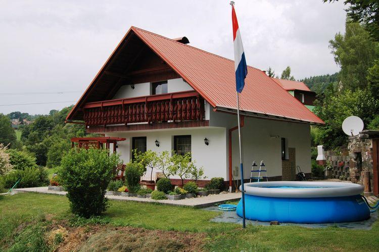 vakantiehuis Tsjechië, Reuzengebergte - Jzergebergte, Benešov U Semil vakantiehuis CZ-51206-01