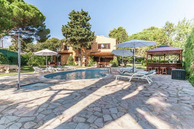 Spanje | Costa-Brava | Vakantiehuis te huur in Sant-Antoni-de-Calonge met zwembad  met wifi 20 personen