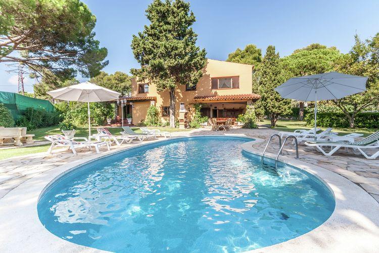 Vakantiewoning met zwembad met wifi  Sant Antoni de Calonge  Huis voor 18 personen met prive zwembad dicht bij het strand aan de Costa Brava