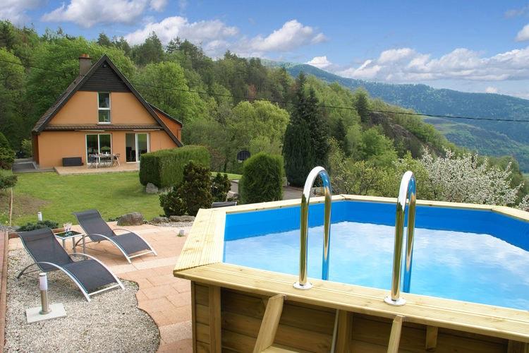 Vakantiehuis met zwembad met wifi  VogezenLe Panorama