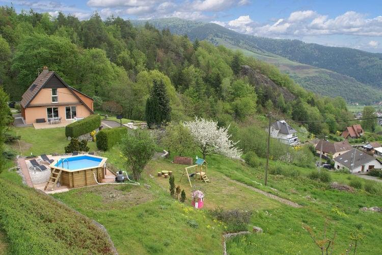 Vakantiehuizen Frankrijk | Vogezen | Vakantiehuis te huur in Fellering met zwembad  met wifi 8 personen