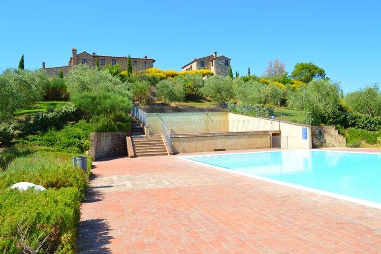 Vakantiehuizen Italie | Toscana | Vakantiehuis te huur in Asciano met zwembad  met wifi 5 personen