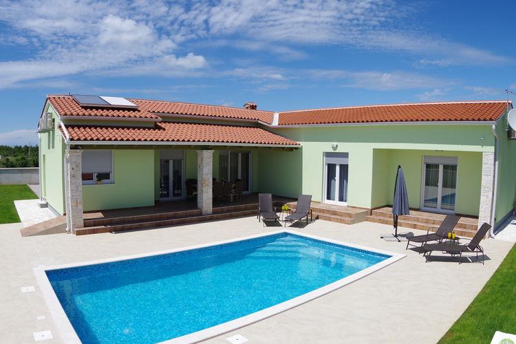 Villa Kroatië, Istrie, Svetvinčenat Villa HR-52342-35