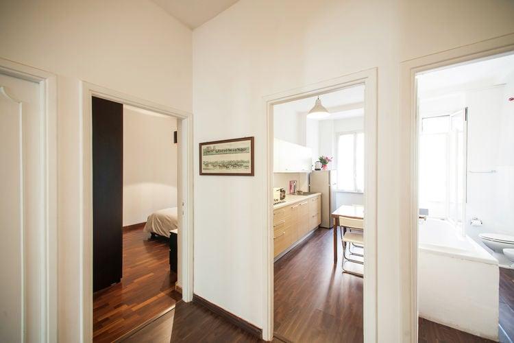 Roma Vakantiewoningen te huur Groot appartement in het centrum, strategische positie om Rome te bezoeken