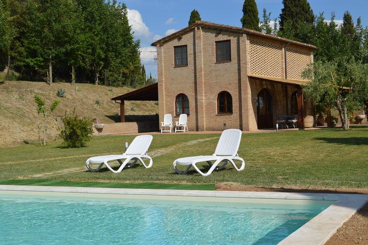 Vakantiehuis met zwembad met wifi  Asciano  Leone