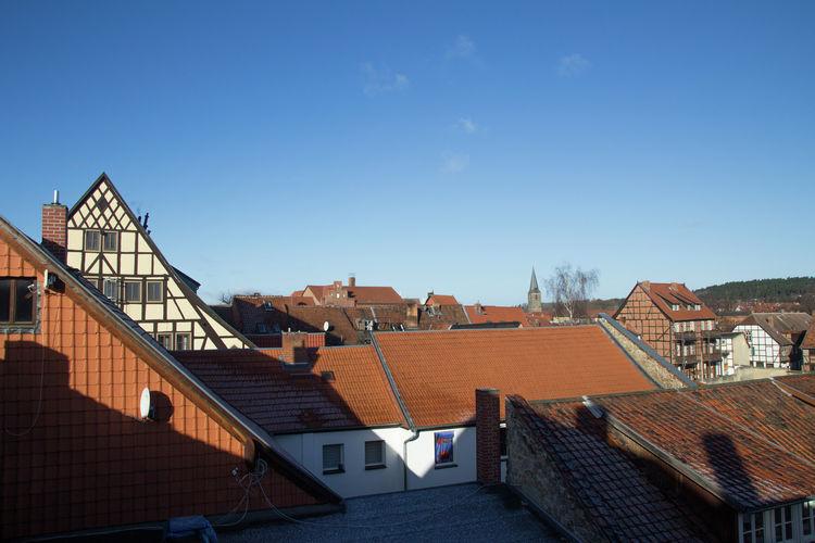 Quedlinburg Vakantiewoningen te huur Nieuw appartement midden in het historische centrum van Quedlinburg
