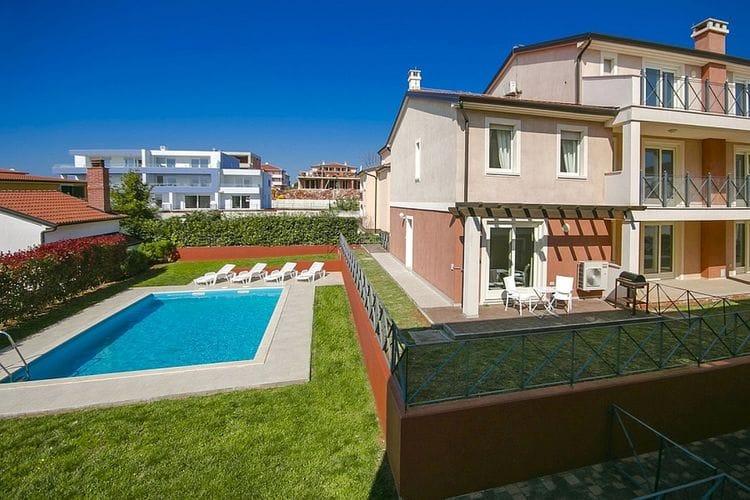 Appartement huren in Novigrad - met zwembad nabij Strand met wifi met zwembad voor 6 personen  Dit mooie en verzorgde appartement..
