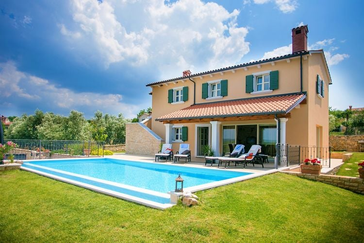 Vakantiehuizen Kroatie | Istrie | Villa te huur in Sveti-Lovrec met zwembad  met wifi 8 personen