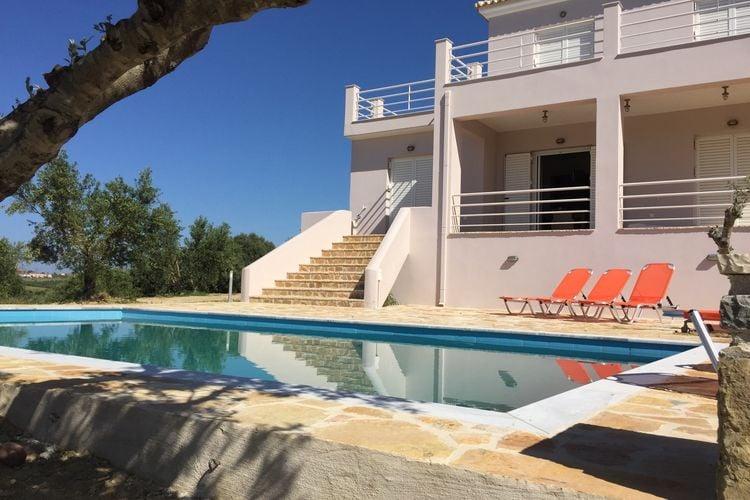 Villa met zwembad met wifi aan zee Kamaria  Luxe villa, nieuw, privé zwembad, prachtig uitzicht dal/zee, Finiki en Kamaria