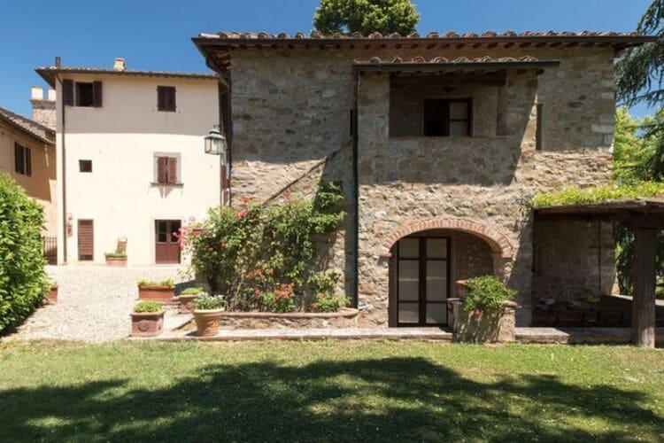 Vakantiehuizen Italie | Toscana | Vakantiehuis te huur in Pergine-Valdarno met zwembad  met wifi 4 personen