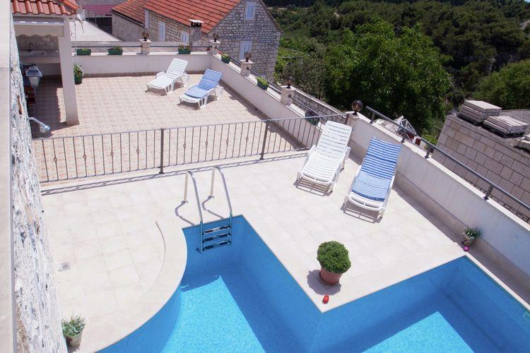 Villa Kroatië, eld, Selca Villa HR-00000-66