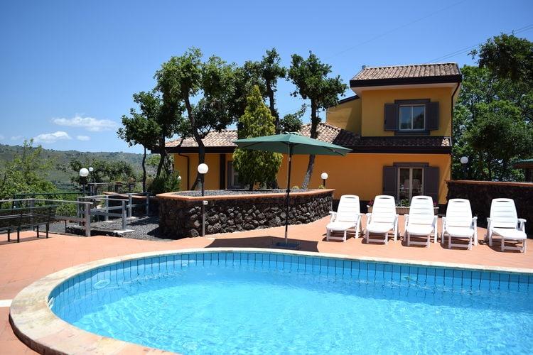 Vakantiehuis met zwembad met wifi  SiciliaVilla Melany