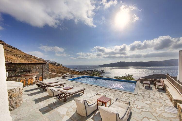 Vakantiehuizen Griekenland | Grmyk | Villa te huur in Agios-Sostis-Mykonos met zwembad  met wifi 12 personen