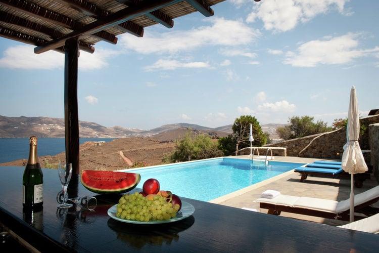 Adembenemende plek op Mykonos, grote villa, prachtig privé zwembad