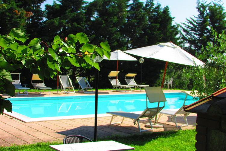 Gezellig appartement in het hart van Toscane op agriturismo met zwembad