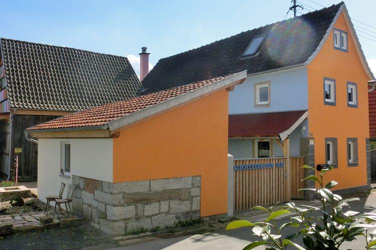 Duitsland | Beieren | Vakantiehuis te huur in Bundorf-Kimmelsbach   met wifi 6 personen