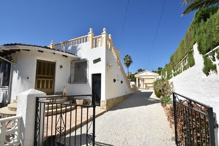 Heerlijke  Spaanse Villa met Grote tuin, terrassen, privé zwembad, in Calpe