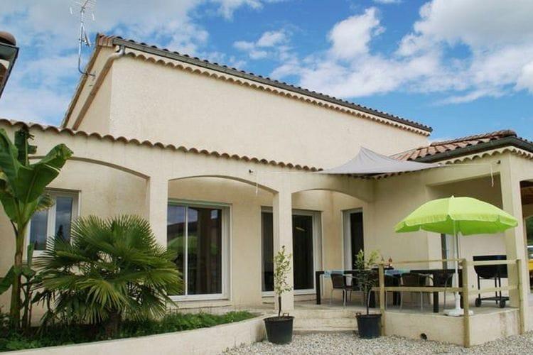 Woning Frankrijk | Ardeche | Vakantiehuis te huur in Pradons met zwembad  met wifi 8 personen
