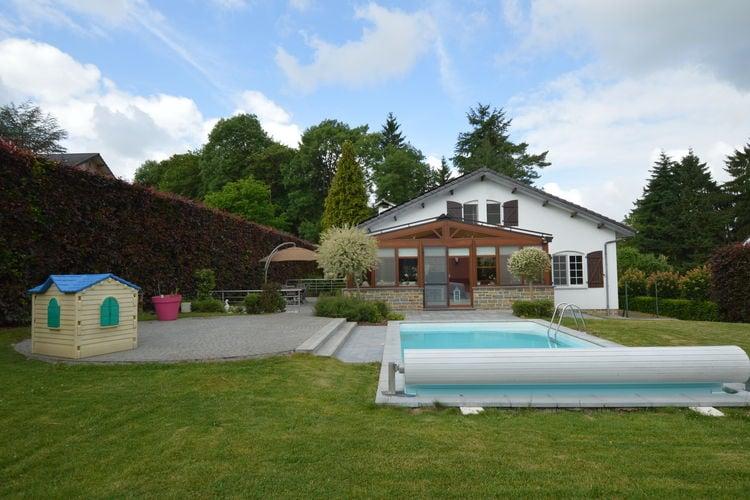 Belgie | Luik | Villa te huur in Limbourg met zwembad  met wifi 8 personen