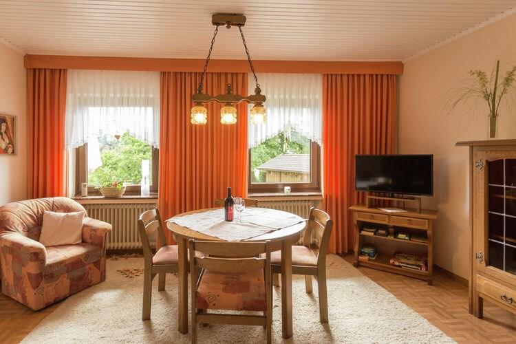 Vakantiehuizen Duitsland | Sauerland | Appartement te huur in Hallenberg-Hesborn   met wifi 4 personen