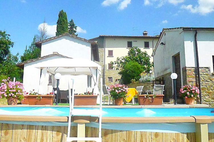 Vakantiehuis met zwembad met wifi  Tregozzano, Arezzo  Al Meriggio