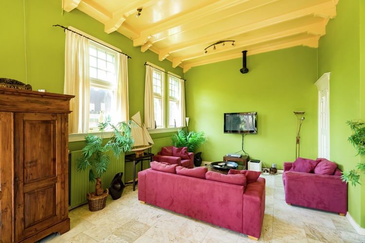 Vakantiehuizen Nederland | Friesland | Villa te huur in Sint-Jacobiparochie   met wifi 11 personen