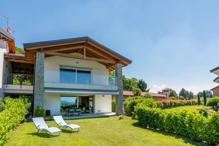 Italiaanse Meren Appartementen te huur Nieuwbouw appartement, overdekt terras, tuin en prachtig uitzicht op het meer