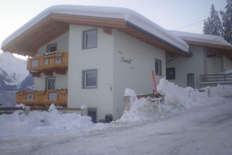 Vakantiehuizen Oostenrijk | Tirol | Appartement te huur in Hippach   met wifi 7 personen