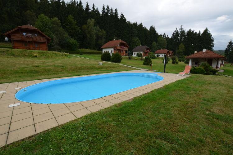 Vakantiewoning huren in Zuid- en midden- Moravi - met zwembad   met zwembad voor 8 personen  Deze comfortabele bungalow staat o..