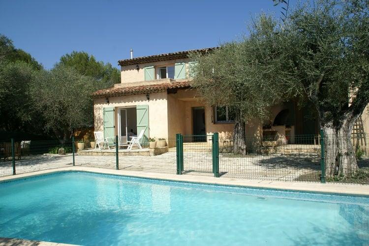 Villa met zwembad met wifi aan zee Provence-Alpes Cote d AzurVilla Mouans Sartoux