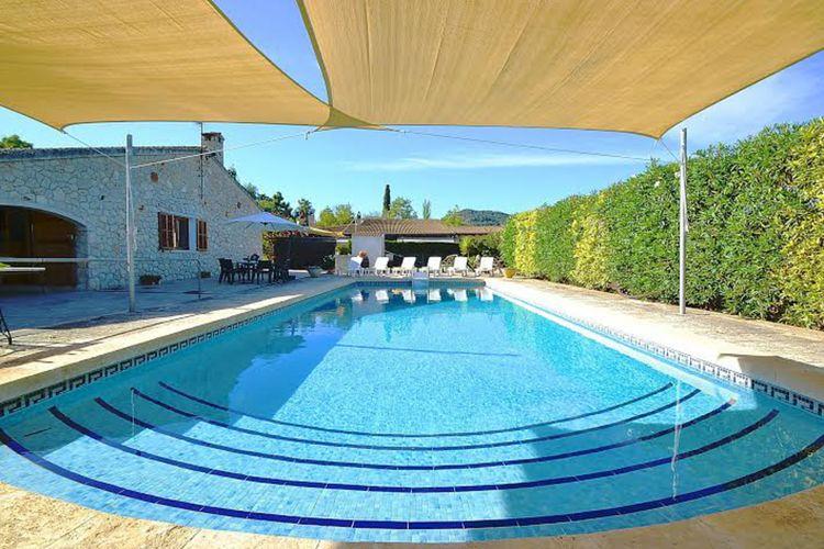 Vakantiewoning met zwembad met wifi  Binissalem  Mora